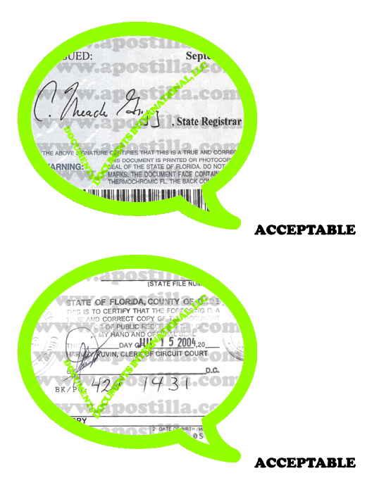 florida marriage certificate apostille Florida Apostille